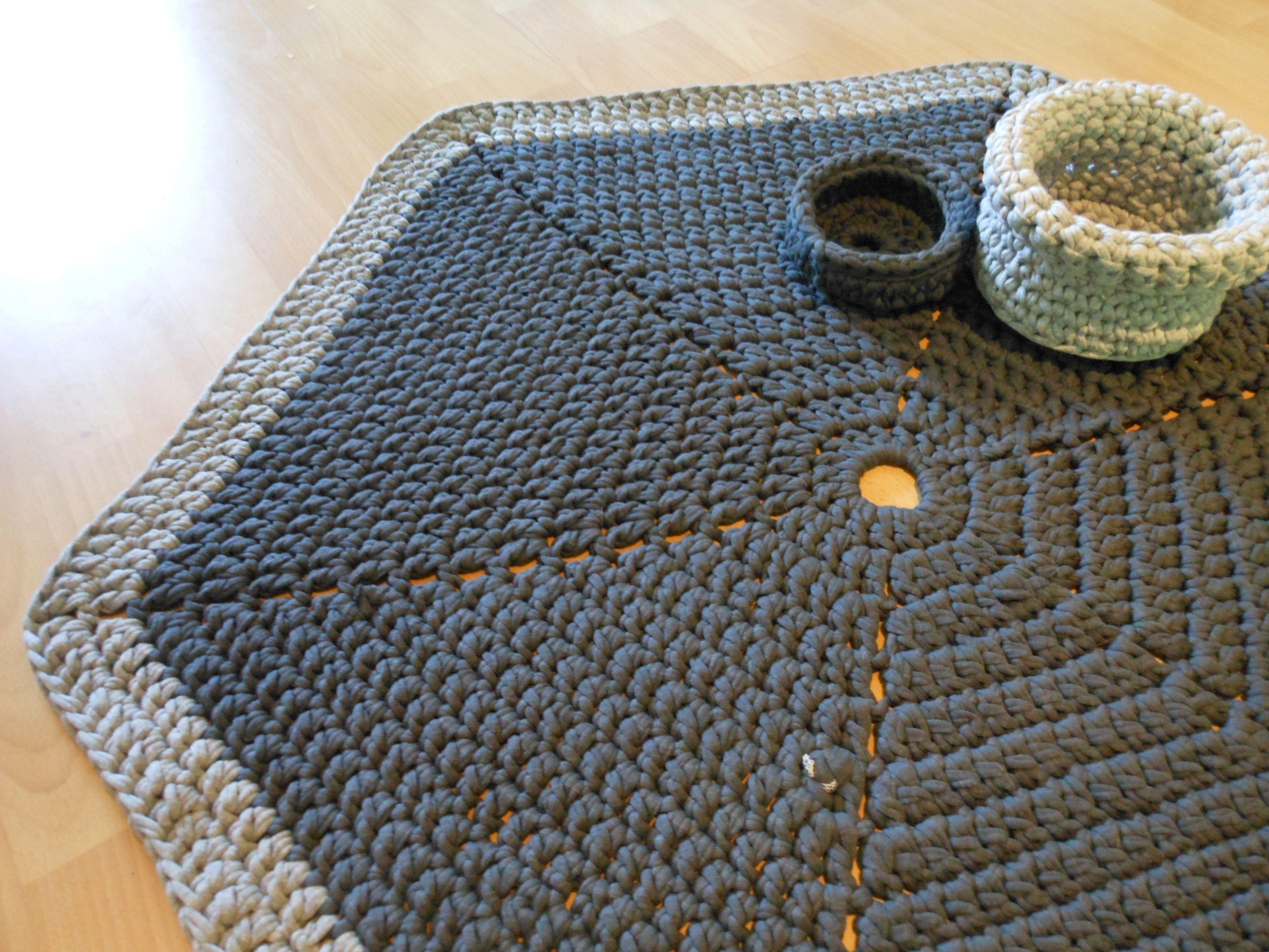 Coral Crochet Rug U2026 130531hexagon5