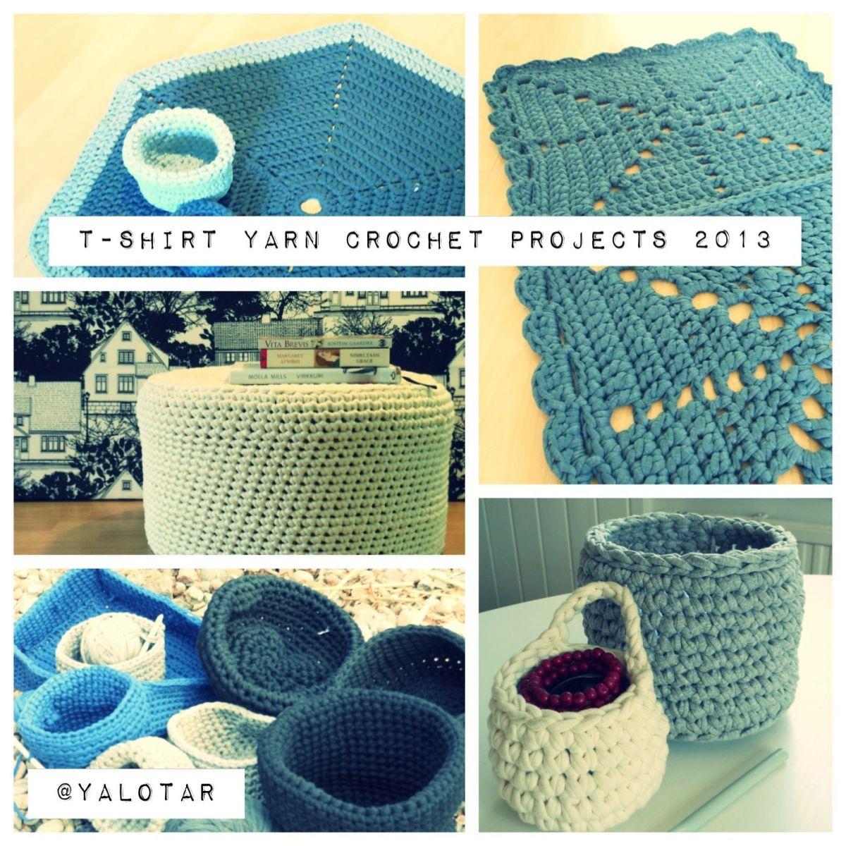 T Shirt Crochet Blanket
